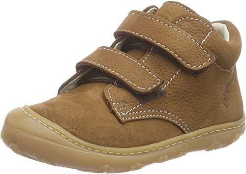 Ricosta Chrisy, Sneakers Basses mixte bébé, Marron (curry 260), 20 EU