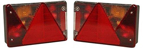 Aspöck multipoint 4 - kit de lumière - lumière à droite et à gauche 7 pôles