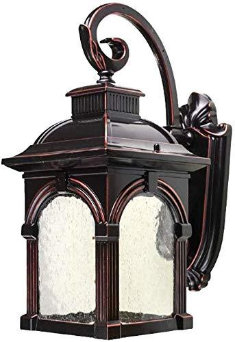 Buitenverlichting veranda licht buitenwand lantaarn wandlamp met waterglas