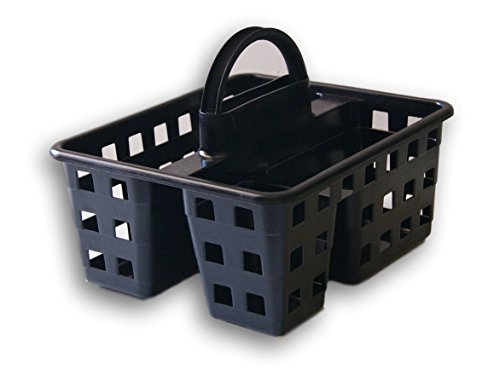 Mainstay Small Utility Shower Caddy Tote Black