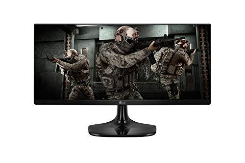 """Monitor Gamer LG Ultrawide 25UM58G - 25"""" IPS Full HD, 1ms MBR GtG, HDMI, Ajuste de Inclinação"""