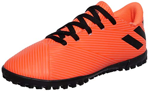 adidas Nemeziz 19.4 TF J, Zapatillas de fútbol, CORSEN/NEGBÁS/Rojsol, 36 2/3 EU