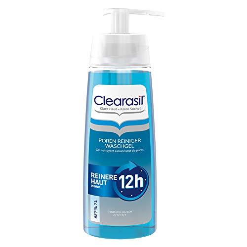 Clearasil Poren Reiniger Waschgel Gegen Pickel und Hautunreinheiten 200 ml