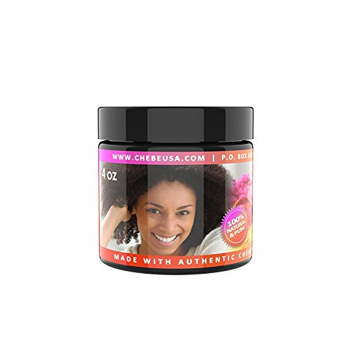 Uhuru Naturals Chebe Paste – 100% Natural - Made with Cow Fat (Tallow) - Organic Hair Blooming Treatment Formula - Promotes Keratin Development For Teens Men & Women (4 Ounce)