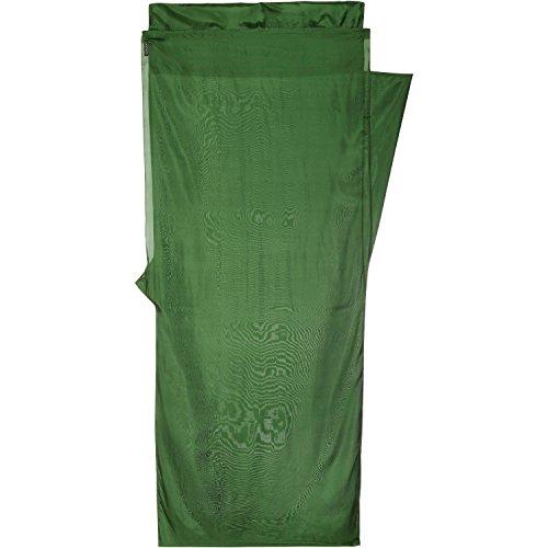COCOON MUMMYLINER SILK (DARK OLIVE GREEN)