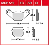 Pastiglie freno TRW Sinter Scooter Kisbee 50 K1-4 tempi 10 – 16 anteriore
