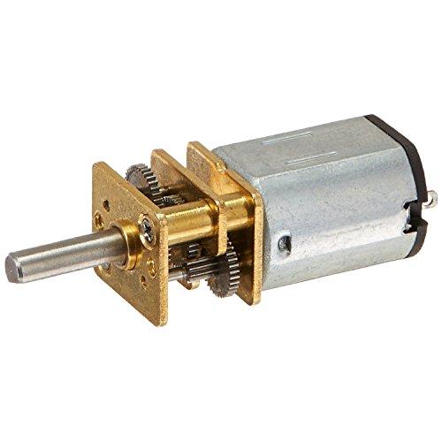 BKAUK JA12-N20 Modell 12V 100 RPM Drehmoment Getriebe Micro Gangschaltung Motor Silber + Gold