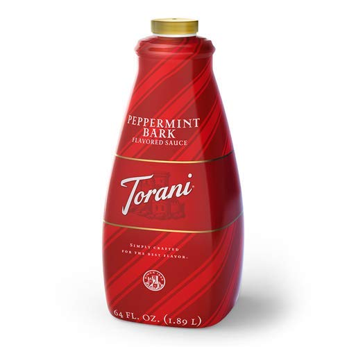 Torani Peppermint Bark Sauce, 64 oz