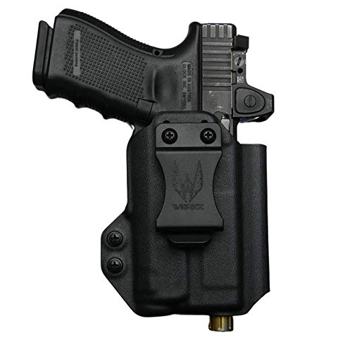 Werkz M2 IWB Holster for Glock 19/19x/23/32/45 (Gen3/4/5) with Inforce APLc (APL Compact) | Ambidextrous