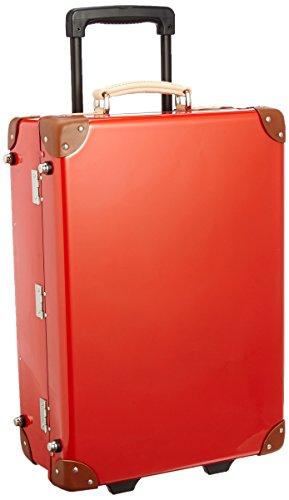[クルーニ] スーツケース トランクキャリー 51cm 30L 3.6kg 日本製 ステッカー付 CY30003 55 cm レッドコラル