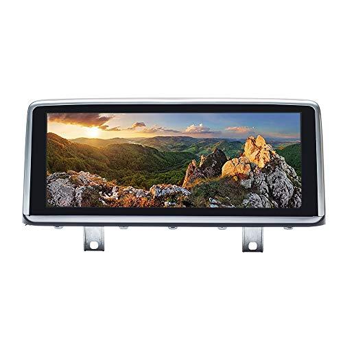 Navigatore GPS Android 10 per autoradio per BMW Serie 3 Serie 4 F30 F31 F32 F33 F34 F36 Sistema NBT Quad Core 2 GB RAM 32 GB ROM con sistema iDrive mantenuto Touch screen da 10,25 pollici Car AutoPlay