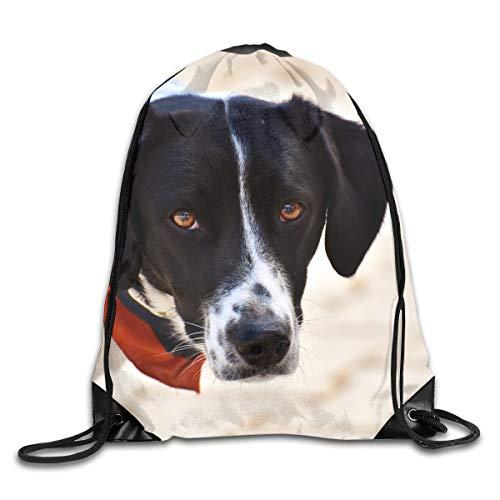 Sotyi-ltd Hundehalsband, Schal, Beagle, Maulkordel, Kordelzug, Rucksack, Rucksack, Schultertasche, Sporttasche, leicht, für Männer und Frauen, Wandern, Schwimmen und Yoga