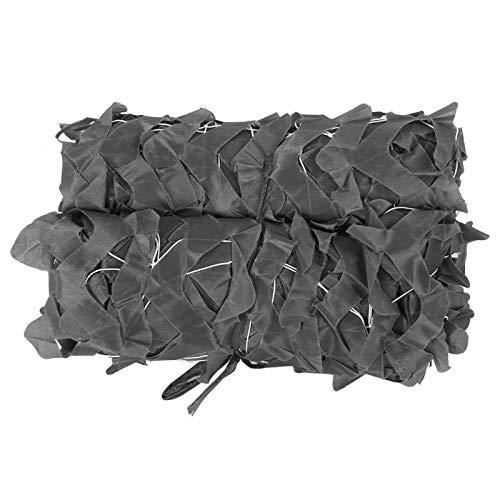 DAUERHAFT Portátil Militar Ligero del Camuflaje de la Red del Refugio de la Red del Protector(Gray, 2 * 4)