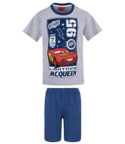 Disney Cars Jungen Shorty-Pyjama - grau - 104