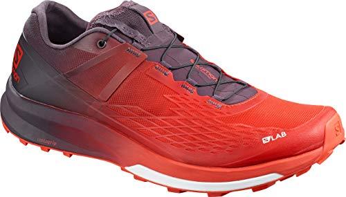 SALOMON S/LAB ULTRA 2 MEN'S TRAIL RUNNING SHOES RACING RED/MAVERICK/WHITE SZ 12