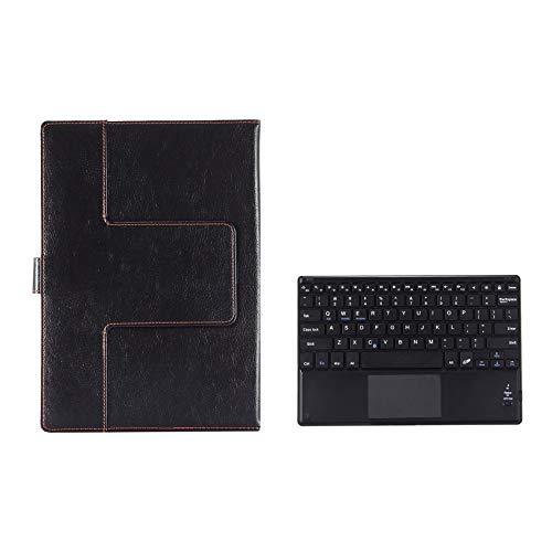 Fauge Funda para Tableta + Teclado para Teclast M40 P20HD IPlay20 / Teclado InaláMbrico con Panel TáCtil para Tableta de 10.1 Pulgadas