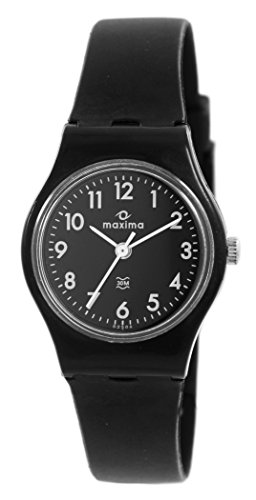 Maxima Analog Black Dial Women's Watch - 02506PPLW
