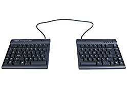 Kinesis Freestyle2 Blue the best ergonomic keyboard