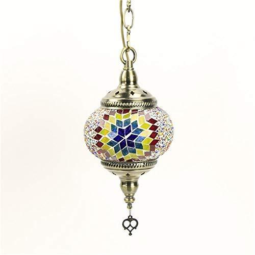 Araña de mosaico Luces de techo Turco Marroquí Lámpara colgante