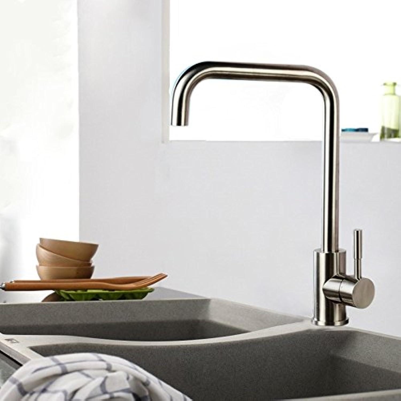 Gyps Faucet Waschtisch-Einhebelmischer Waschtischarmatur BadarmaturEdelstahl Gesundheit führen - Freie grüne Küche Waschbecken Wasser Mischen von Warmen und Kalten Gerichten Tippen Waschtischmischer