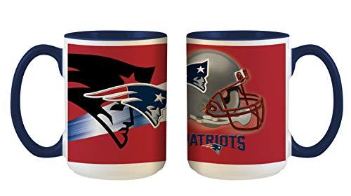 New England Patriots NFL 3D Inner Color Tasse, Becher, Mug 445ml