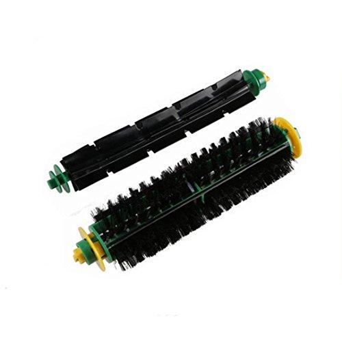 Fulltime® Bürste und flexible Schlagbürste Ersatz für I-robot Roomba 500 564 52708 56708 Serie Staubsauger Ersatzteil-Kit