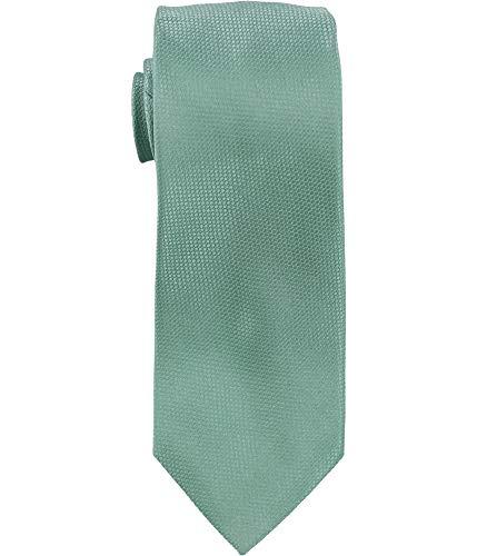 Nautica Corbata con textura para hombre, color verde, talla única