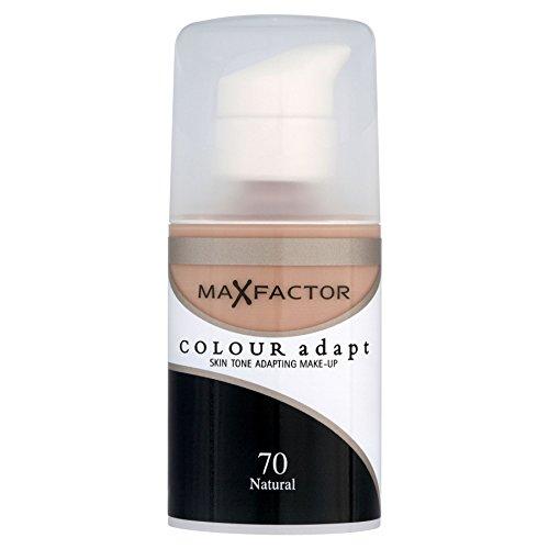 3 x Max Factor Colour Adapt Skin Tone Adapting Fond de teint 34ml - 70 Natural