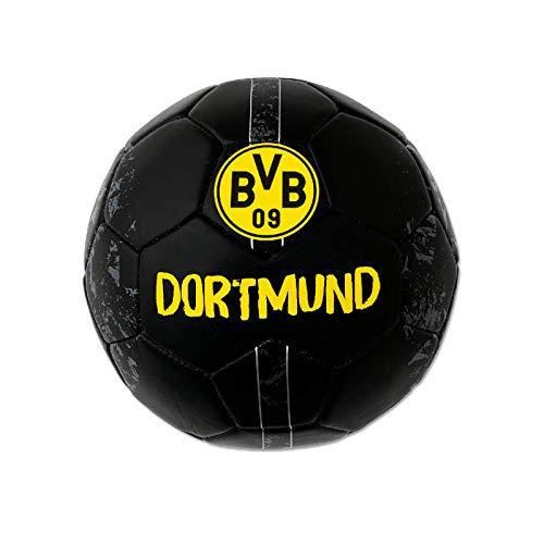 Borussia Dortmund BVB Ball/Fussball ** Mini Silber ** Gr. 1