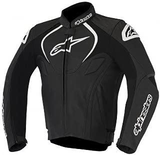 Alpinestars Men's Jaws Leather Jacket (Black, EU 56)