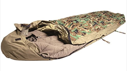 Mil-Tec Modular - Saco de dormir (3 capas) woodland