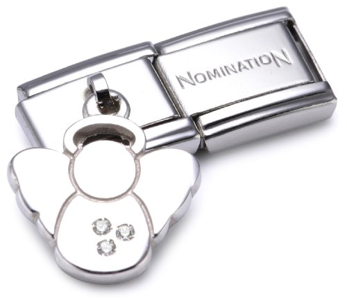 Nomination Composable Damen-Bead Classic Charms 925 Sterlingsilber Engel 031710/04