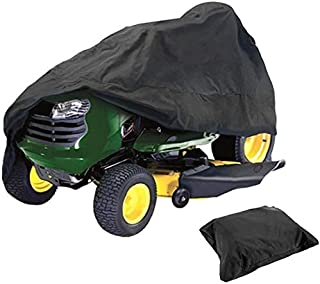 Lawn Mower Cover Outdoor Ride On Waterproof Protective Cover UV Protection Riding Lawn Tractor Cover,XS(54x26x35 Inches)