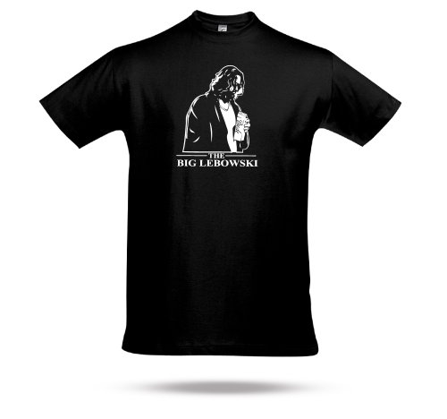 The Big Lebowski the Dude Jeff Briges John Godmann Fanshirt Bowlingshirt Funshitrt von SHIRT CHARTS (5XL)