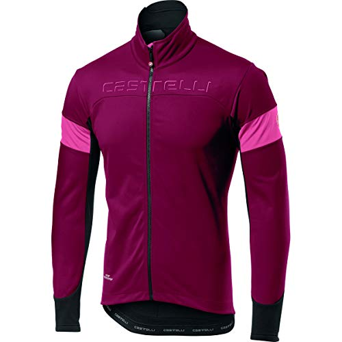 Castelli Casaco Transition Matador Red / Giro Pink XXL - 4517505616-2XL