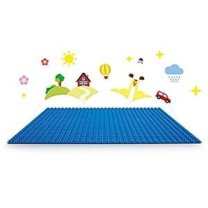 Amazon.co.jp - レゴ クラシック 基礎板 <ブルー> 10714