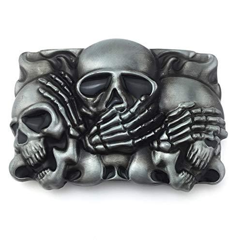 gothic belt buckle - 2