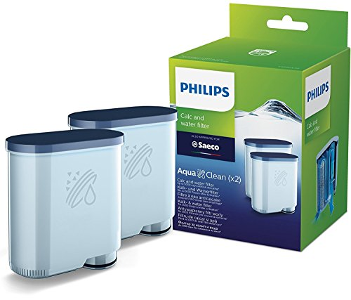 Philips CA6903/22 Saeco AquaClean Kalk en Waterfilter, 2 Stuk