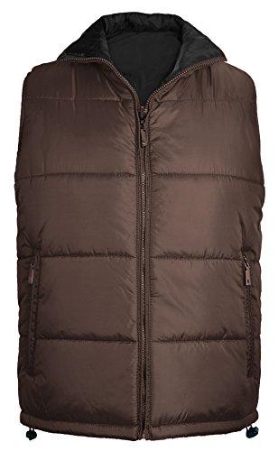 Billabong Men's Boundary Reversible Puffer Anorak Jacket Black Large