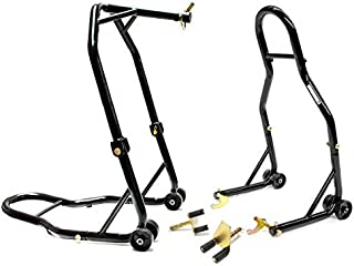 Venom Motorcycle Front+Rear Headlift Dual Lift Stand For BMW S1000RR