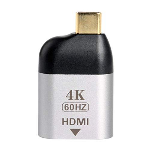 KAPAYONO Cable Convertidor de Video USB-C Macho una HDMI Puerto de Pantalla 4K60Hz Hembra Jack
