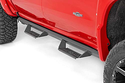 Rough Country Cab Length AL2 Drop Steps for 07-18 GM 1500/2500 - AL107134