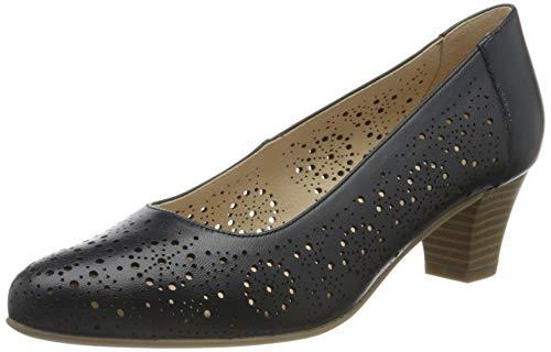 Caprice Cristel, Zapatos de Tacón Mujer, Azul (Ocean Nappa 855), 40 EU