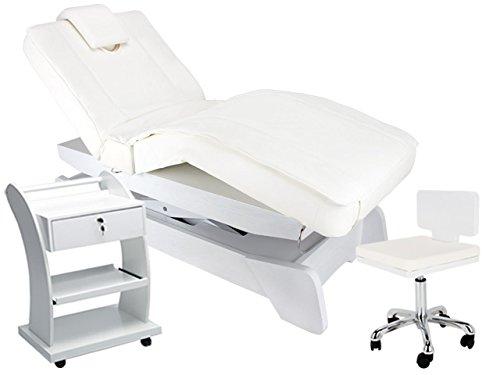900208 Elektrische Massage Wellnesskabine Liege Arbeitsstuhl Beistelltisch physiotherapie behandlung massage behandlungsliege praxis wellness studio elektrische salon spa