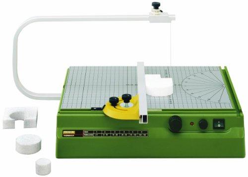 Proxxon Heißdraht-Schneidegerät Thermocut (Styroporschneider, aufgedrucktes Raster und Winkeleinstellung, Temperatur regelbar von 100°-200-°) 27080