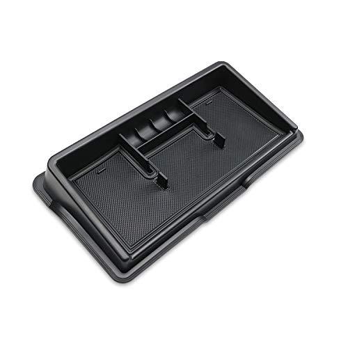 LFOTPP Jimny Sierra JB64 JB74 Auto Instrumententafel Aufbewahrungsbox Veranstalter, Telefon Halter Mittelkonsole Veranstalter (Schwarz)