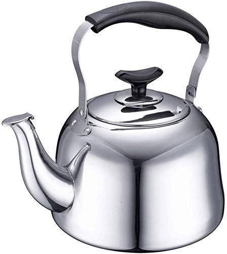 Hoge kwaliteit Theepot for waterkoker, roestvrij stalen buizen theepot, zeer gepolijst theepot, warmte en roest weerstand, gemakkelijk schoon te maken, maak thee, koffie en warme water, kook snel