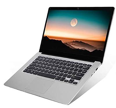 14 inch Laptop Notebook Computer PC, Windows 10 Home OS Intel CPU 4GB RAM 64GB Storage, WiFi HDMI BT4.0