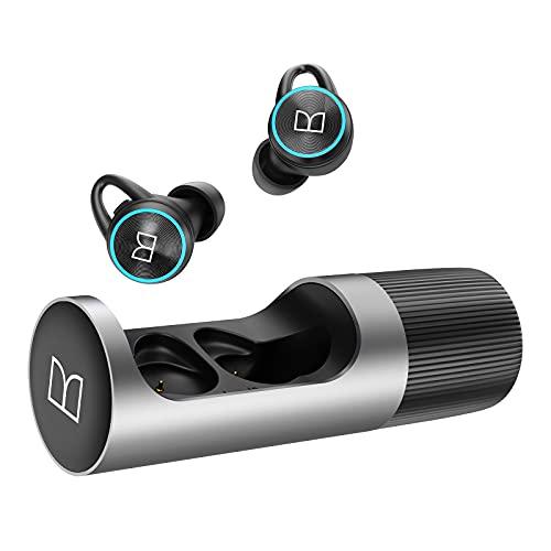 Monster Bluetooth Kopfhörer Kabellos Berührungssteuerung und Wasserdicht, 36Std.Laufzeit, In Ear-Kopfhörer HiFi Stereo mit Mikrofon Intensivem Bass, Wireless Earbuds für Android und iOS.
