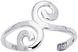 Sterling Silver Toe-Ring